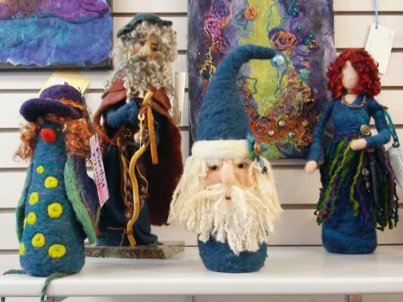 Felting by Lois McLeod
